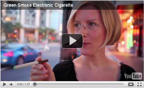 green smoke e cigarette video